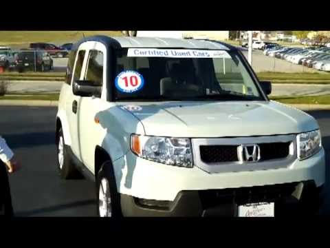 Used Certified 2010 Honda Element Ex 4wd For Sale At Honda