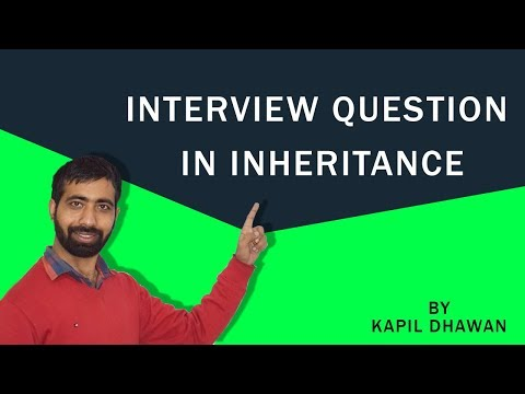 Interview Question In Inheritance (Java)