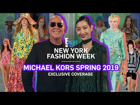 NYFW 2018 x MICHAEL KORS   E! VIP   E! News Asia