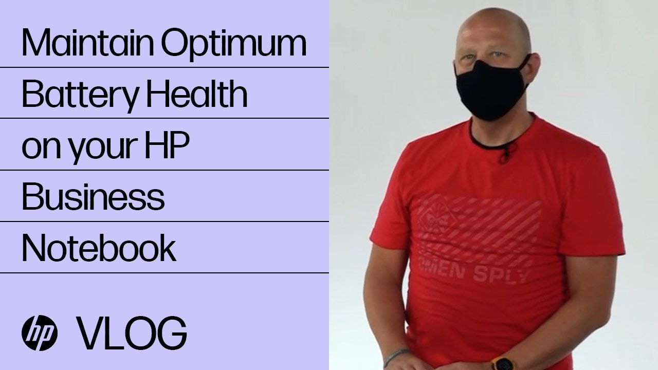 Maintaining Optimum Battery Health on your HP Business Notebook | HP Support | HP