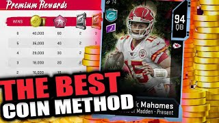 #1 COIN MAKING METHOD IN MADDEN 20! MAKE 500K TO 1 MILLION COINS EASY! | MADDEN 20 ULTIMATE TEAM