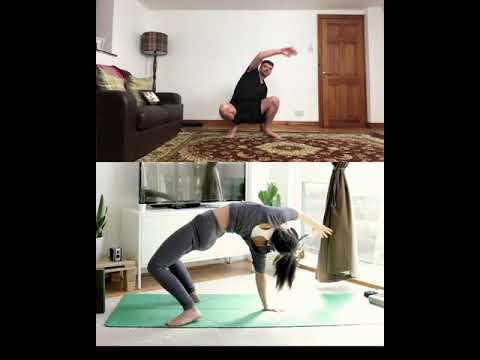 Yoga Meets Some Awesome Matrix Moves