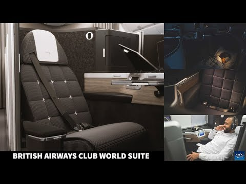 The New British Airways Club World Suite