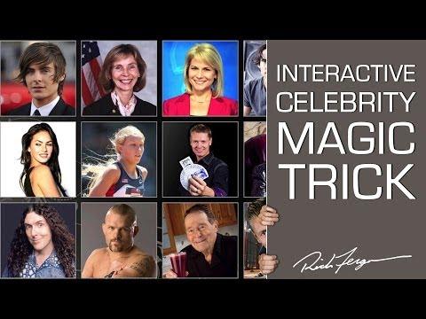 Pick a Celebrity - Interactive Magic Trick