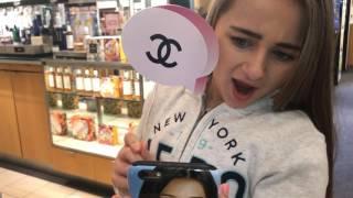 Isabella Barrett goes to the Mall  / Friday night fun