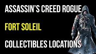 Assassin's Creed Rogue Fort Soleil Collectibles/activities/quest Items/viking Sword/templar Relic