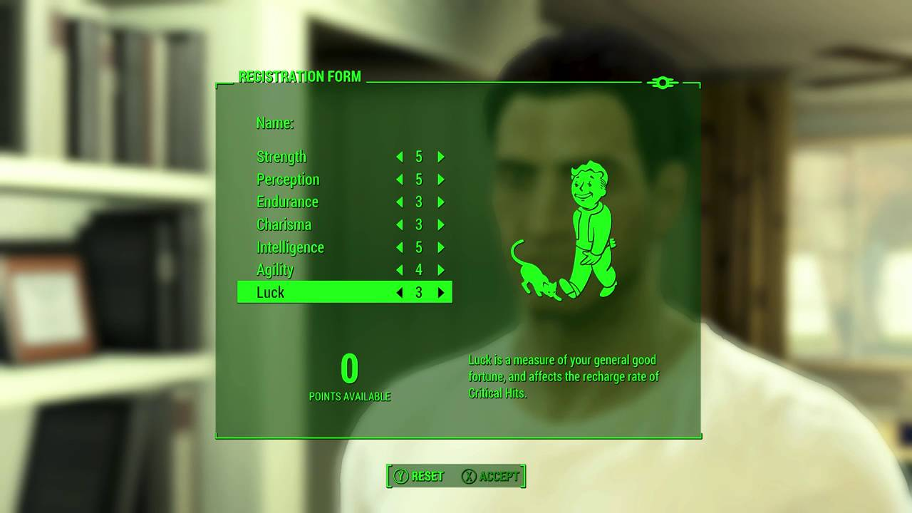Fallout 4: Registration Form UI - YouTube