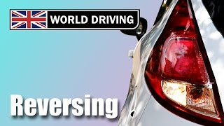 How to reverse a manual car - learning to drive. Clutch control in reverse.
