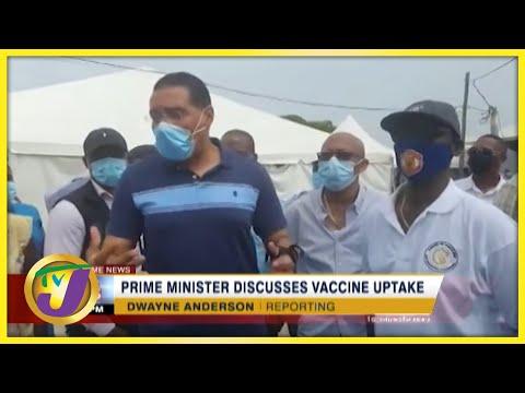 PM Holness Discusses Vaccine Uptake   TVJ News - Sept 5 2021