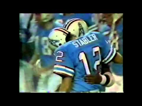 Ken Stabler and the Luv Ya Blue Houston Oilers: A Tribute