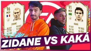 ¡¡FIFA 20 ZIDANE VS KAKÁ!! | VS DJMARIIO EN MYSTERY BALL