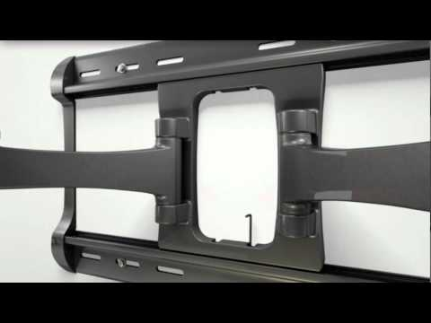 How To Install Your Sanus Xf228 Tv Mount Youtube
