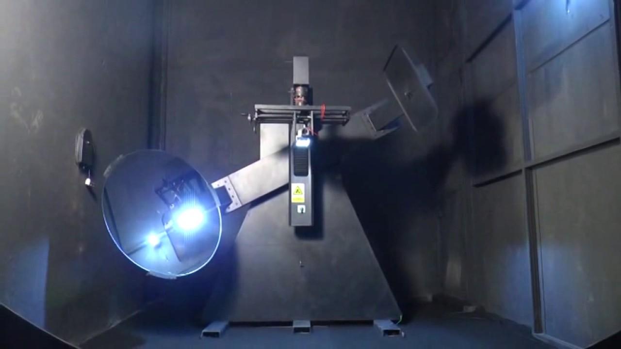 goniophotometer photometric testing for led lighting youtube. Black Bedroom Furniture Sets. Home Design Ideas