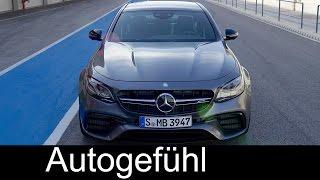 Mercedes-AMG E63S Sound/Exterior/Interior Preview new neu E-Class E-Klasse AMG