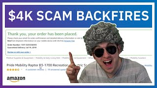This $4,000 Scam Backfired  They Think I Spent It All