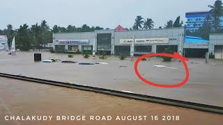 Flood in Kerala 2018 August 16 Aluva to Chalakudy Route