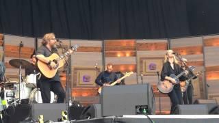 Søren Huss & Tina Dickow - I surrender, Grøn koncert, Valby, 2015