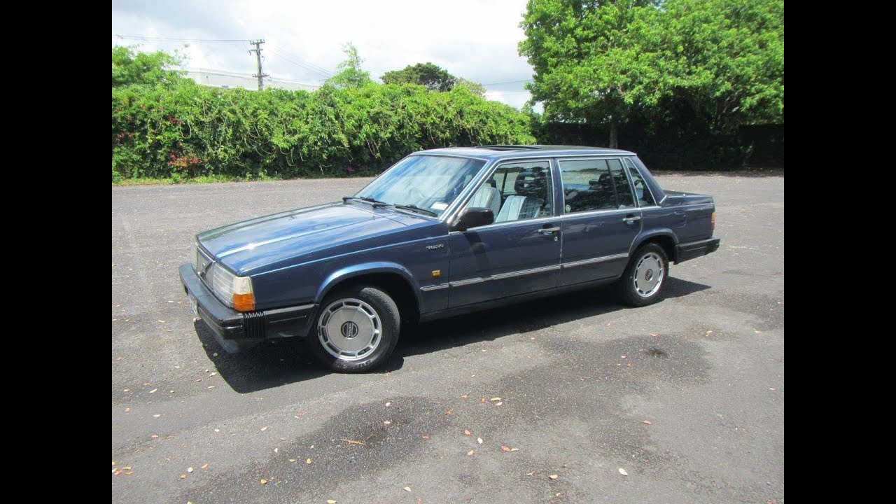 1988 volvo 740 gle 1 reserve cash4cars cash4cars. Black Bedroom Furniture Sets. Home Design Ideas