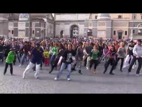 Happy Flash Mob Roma 6 aprile 2014