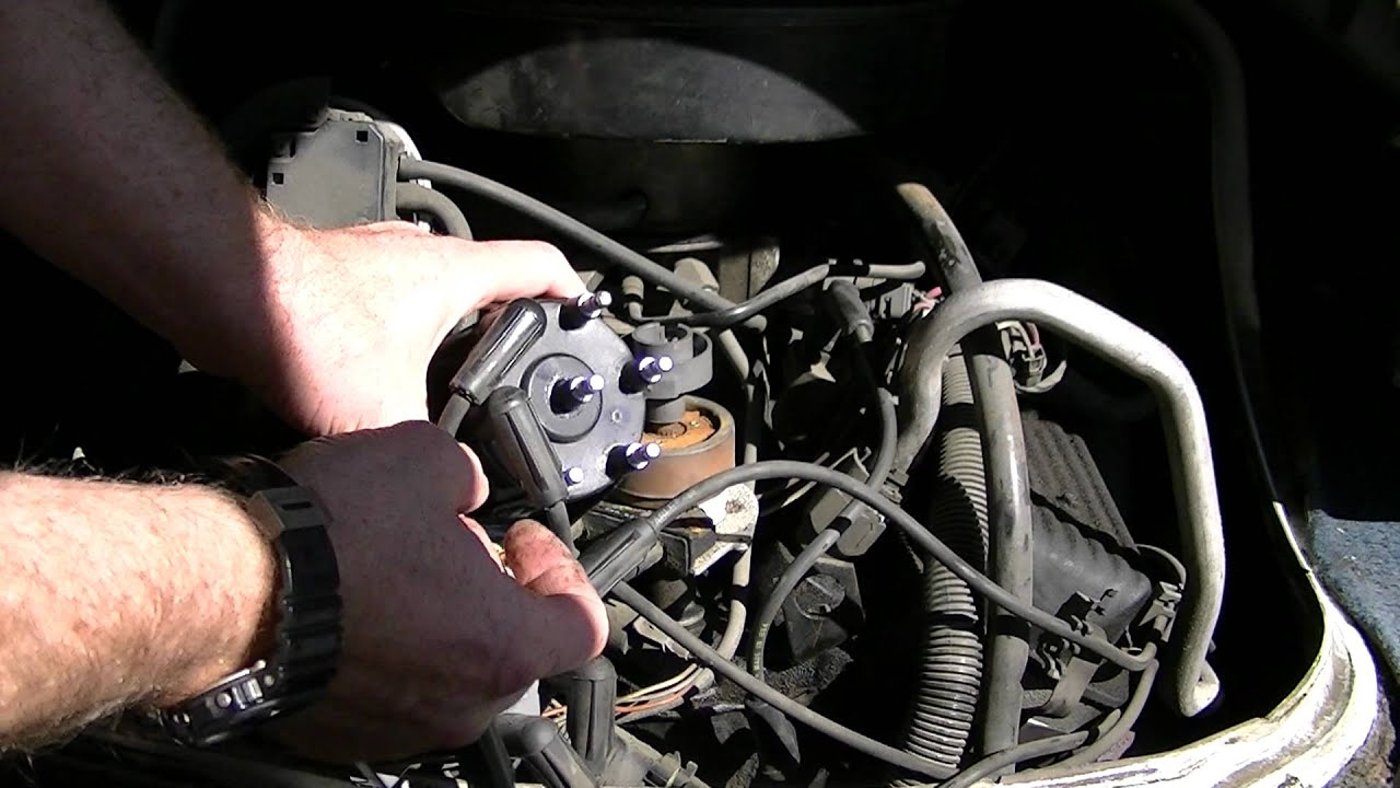 hight resolution of how to replace the cap and rotor on an astro van or gmc safari