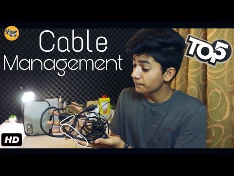Top 5 Accessories which will help in Cable Management l In Hindi l Giveaway!!🙌🙌