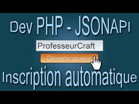 Minecraft Tuto Plugin JsonAPI - Inscription Automatique Groupmanager/PermissionEX