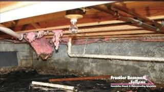 Getting Rid of Crawl Space Odors | HomePro | Frontier Basement Systems
