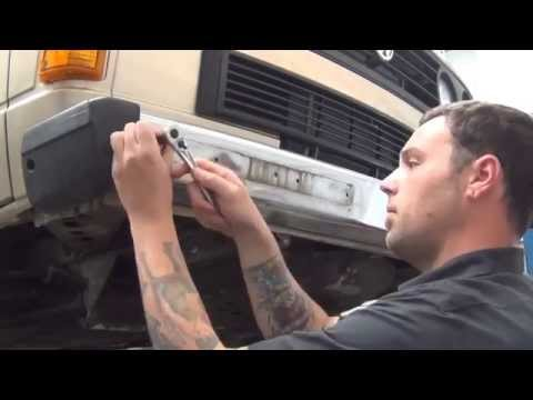 GoWesty Plate Steel Front Bumper Installation for Vanagon