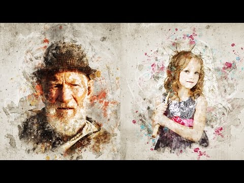 Mixed Art Photoshop Action Tutorial