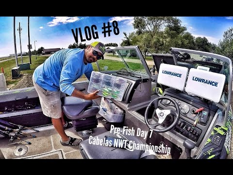 VLOG #8 Last Day Before The Cabelas National Walleye Tour Championship On Lake Oahe