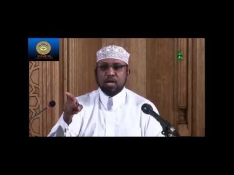 Tafsiirka Qur'aanka Al-Baqara 222-225 Sheikh Ali Mohamed Salah