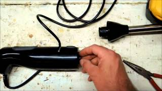 Repair KitchenAid immersion blender