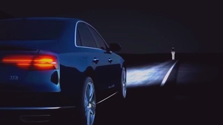 Светодиодные фары Audi A8 - Matrix LED Headlights | Technologies of the future, smart LED headlights