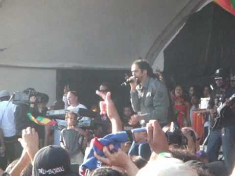 Nas & Damian Marley  Nah Mean  @ UCLA Reggae Fest 2010