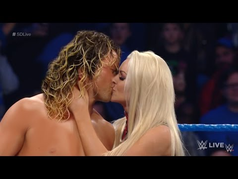 Dolph Ziggler and Maryse Kiss MANIP - WWE Smackdown LIVE Sept 6 2016