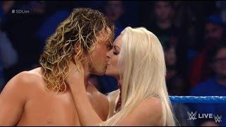 Video Dolph Ziggler and Maryse Kiss MANIP - WWE Smackdown LIVE Sept 6 2016 download MP3, 3GP, MP4, WEBM, AVI, FLV November 2017