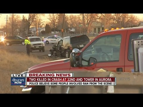 Deadly crash on Tower Road in Aurora - YouTube