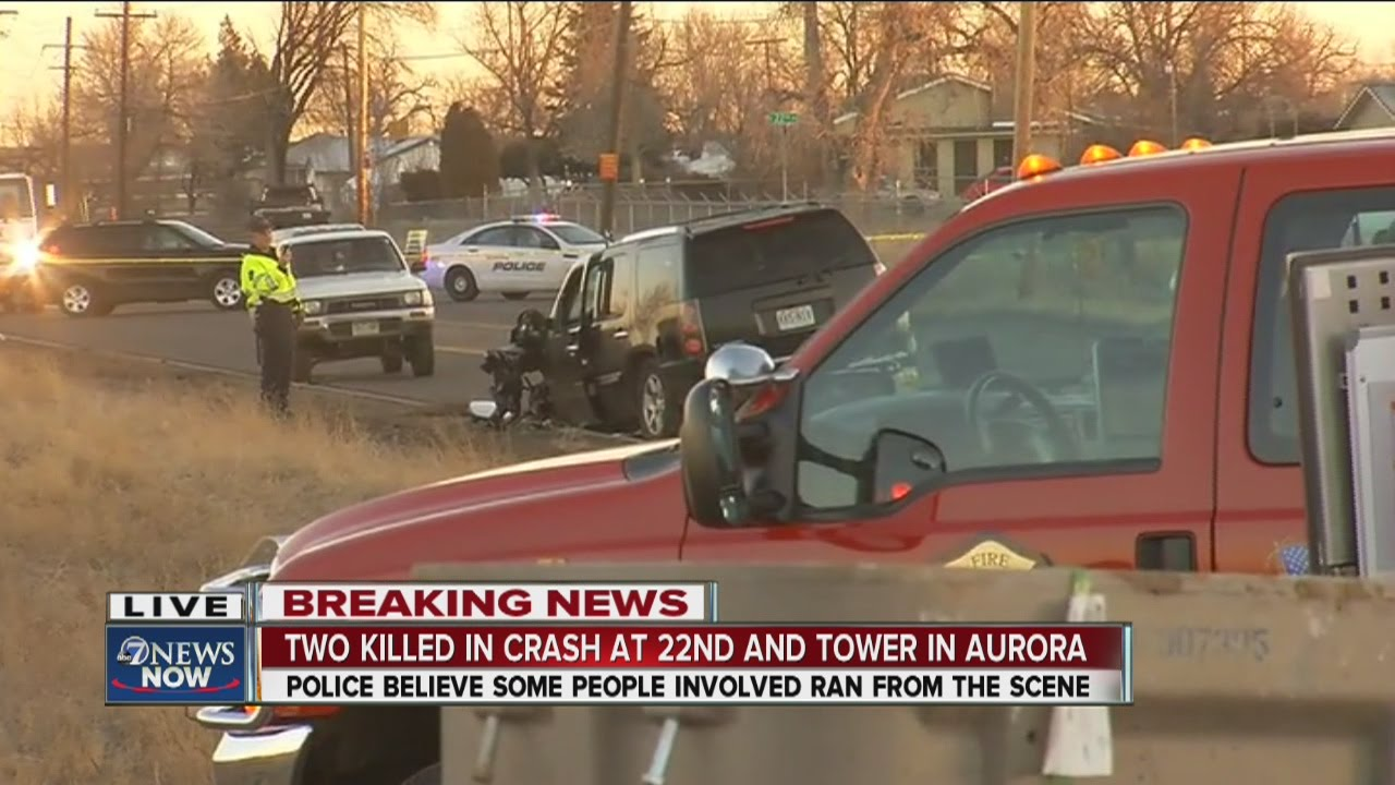 Deadly crash on Tower Road in Aurora