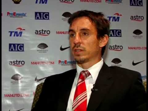 Gary Neville interview with ESPN