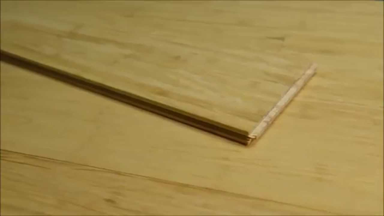 Ambient Natural Wide Plank Tongue And Groove Bamboo