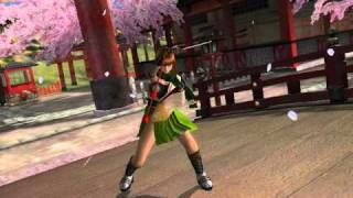 Dead or Alive: Dimensions (3DS) Trailer