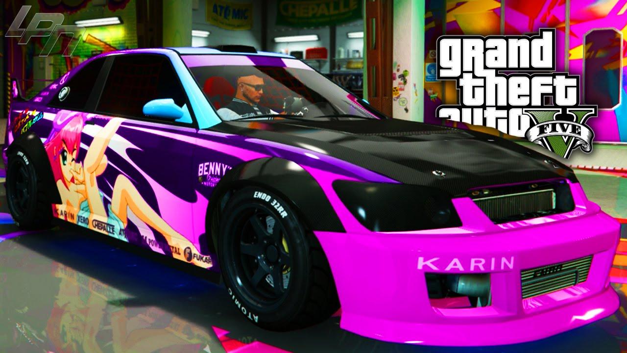 GTA V ONLINE - UPDATE: EPIC KARIN SULTAN RS TUNING!! - YouTube