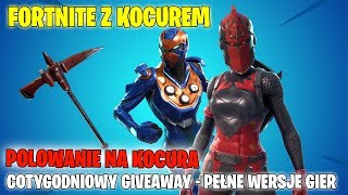 FORTNITE-HUNTING FOR THE CAT! WEEKLY GIVEAWAY-FULL GAME VERSIONS! -I play with viewers,