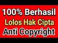 100% LOLOS COPYRIGHT Lagu Dan Video Anda Jika Mengikuti Tutorial Ini, Cara Lolos Dari Hak Cipta Lagu