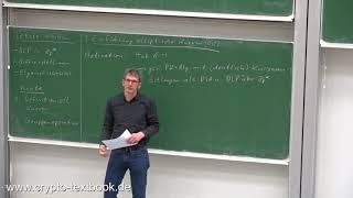 Vorlesung 16: Einführung in die Elliptische-Kurven-Kryptografie (ECC) von Christof Paar