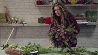 جعل الخاصة بك باقة من الزهور البرية