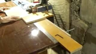 Приспособление для торцевого сверления своими руками(Торцевое сверление заготовок из ЛДСП для производства мебели - самодельный станок из дрели., 2013-12-17T15:25:52.000Z)