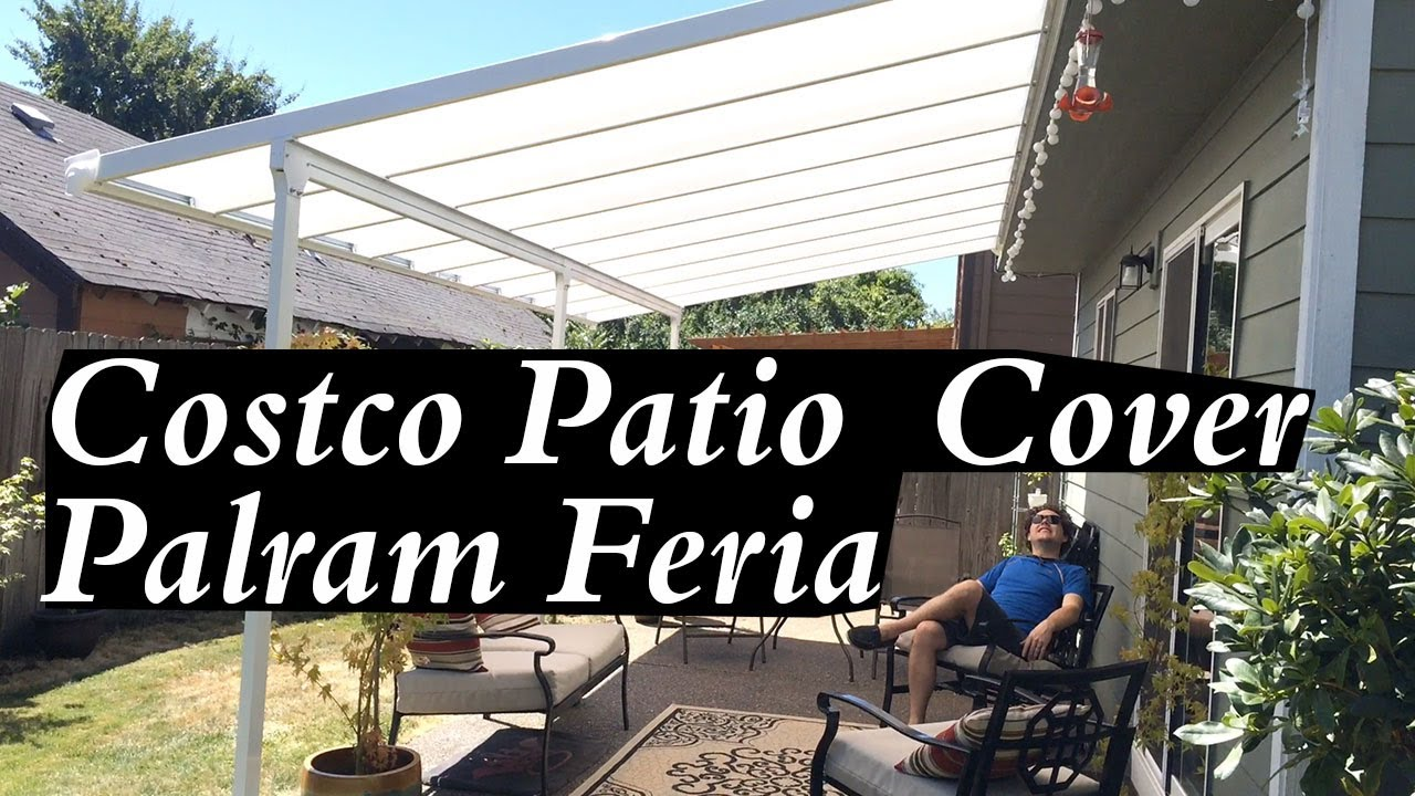costco patio cover palram feria white best easy setup great for shade diy metal aluminum kits