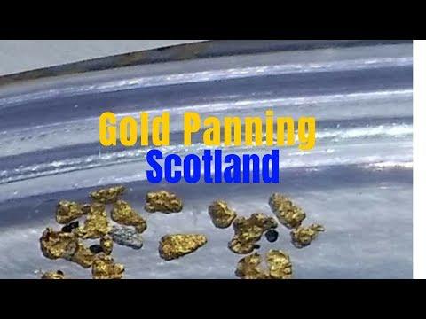 Gold Panning Scotland Secret  Location