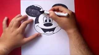 איך לצייר מיקי מאוס